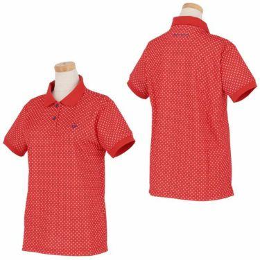 ビバハート VIVA HEART レディース ドット柄 半袖 ポロシャツ 012-22440 2020年モデル 詳細3