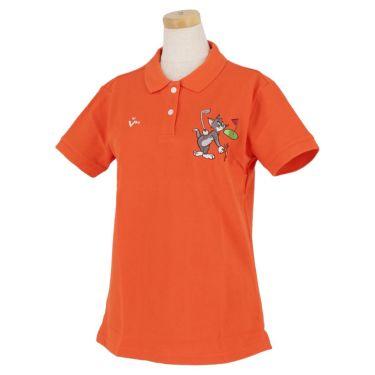 ビバハート VIVA HEART レディース トムとジェリー コラボ 半袖 ポロシャツ 015-22440 2020年モデル オレンジ(35)