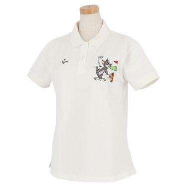 ビバハート VIVA HEART レディース トムとジェリー コラボ 半袖 ポロシャツ 015-22440 2020年モデル ホワイト(05)