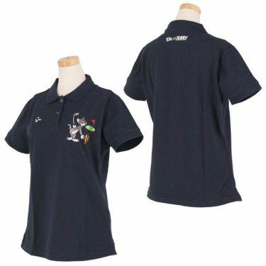 ビバハート VIVA HEART レディース トムとジェリー コラボ 半袖 ポロシャツ 015-22440 2020年モデル 詳細3