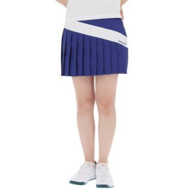 【ss特価】△ビバハート レディース インナーパンツ一体型 プリーツ スカート 012-72541 [2020年モデル] ゴルフウェア [春夏モデル 62%OFF] 特価 ブルー(95)