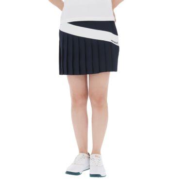 【ss特価】△ビバハート レディース インナーパンツ一体型 プリーツ スカート 012-72541 [2020年モデル] ゴルフウェア [春夏モデル 62%OFF] 特価 ネイビー(98)