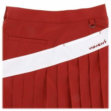 【ss特価】△ビバハート レディース インナーパンツ一体型 プリーツ スカート 012-72541 [2020年モデル] ゴルフウェア [春夏モデル 62%OFF] 特価 詳細4