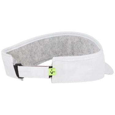 【ss特価】△ビバハート メンズ ロゴ刺繍 ツイル サンバイザー 013-52230 05 ホワイト [2020年モデル] ゴルフウェア [62%OFF] 特価 詳細1