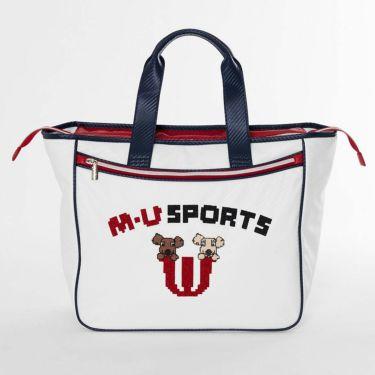 M・U SPORTS エム・ユー・スポーツ ユニセックス ボストンバッグ 703D1260 002 アイボリー 2021年モデル 詳細1