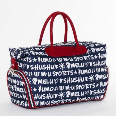 M・U SPORTS エム・ユー・スポーツ ユニセックス ボストンバッグ 703D1262 075 ネイビー 2021年モデル 詳細2