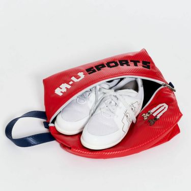 M・U SPORTS エム・ユー・スポーツ ユニセックス シューズケース 703D1360 010 レッド 2021年モデル 詳細2