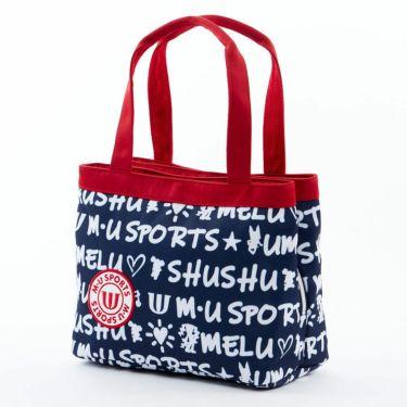 M・U SPORTS エム・ユー・スポーツ ユニセックス ラウンドポーチ 703D1062 075 ネイビー 2021年モデル ネイビー(075)