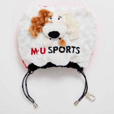 M・U SPORTS エム・ユー・スポーツ ユニセックス アイアンカバー 703D2540 010 レッド 2021年モデル レッド(010)