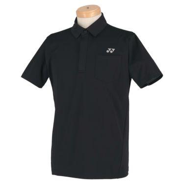 ヨネックス YONEX メンズ メッシュショルダー 半袖 フライフロント ポロシャツ GWS1150 2020年モデル ブラック(007)