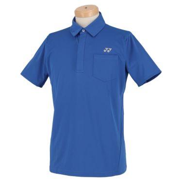 ヨネックス YONEX メンズ メッシュショルダー 半袖 フライフロント ポロシャツ GWS1150 2020年モデル ブルー(002)