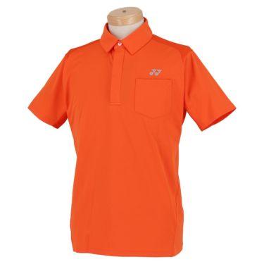 ヨネックス YONEX メンズ メッシュショルダー 半袖 フライフロント ポロシャツ GWS1150 2020年モデル オレンジ(005)