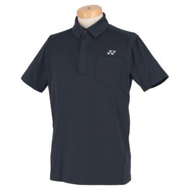 ヨネックス YONEX メンズ メッシュショルダー 半袖 フライフロント ポロシャツ GWS1150 2020年モデル ネイビーブルー(019)