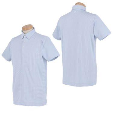 スリクソン SRIXON メンズ パッチワーク柄 半袖 ボタンダウン ポロシャツ RGMPJA13 2020年モデル 詳細3