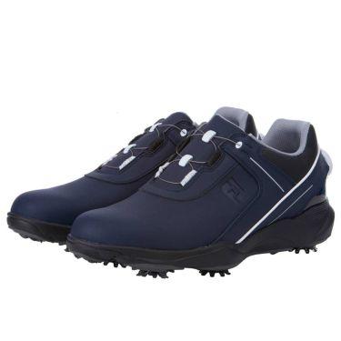 フットジョイ FootJoy ハイドロライト ボア メンズ ゴルフシューズ 50059 2021年モデル ネイビー/ブラック(50059)