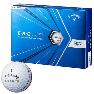 キャロウェイ E・R・C ソフト ゴルフボール 2021年モデル ホワイト 1ダース(12球入り)