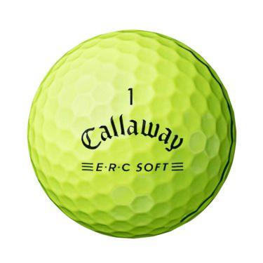 キャロウェイ E・R・C ソフト ゴルフボール 2021年モデル イエロー 1ダース(12球入り) 詳細1