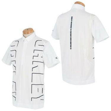 オークリー OAKLEY メンズ ロゴグラフィック 生地切替 半袖 ポロシャツ FOA402497 2021年モデル 詳細3