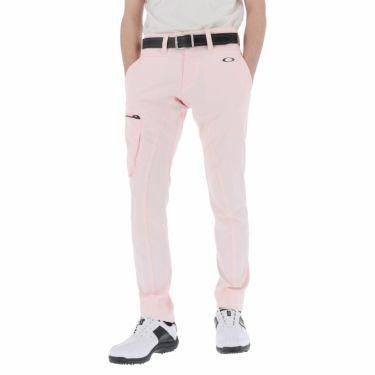 オークリー OAKLEY メンズ SKULL ストレッチ テーパード ロングパンツ FOA402485 2021年モデル [裾上げ対応1●] ピンクスリップ(807)