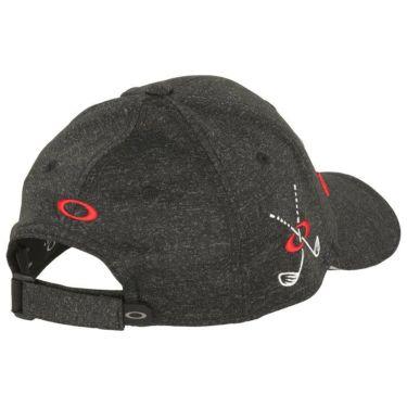 【ssプロパー】△オークリー メンズ BG FIXED CAP 15.0 キャップ FOS900659 02E ブラックアウト ゴルフウェア [2021年モデル] 詳細1