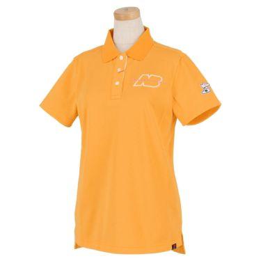 【ssプロパー】△ニューバランス レディース METRO 鹿の子 半袖 ポロシャツ 012-1160511 ゴルフウェア [2021年春夏モデル] オレンジ(151)