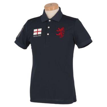 アドミラル Admiral メンズ フラッグ 刺繍 半袖 ポロシャツ ADMA016 ネイビー(30)