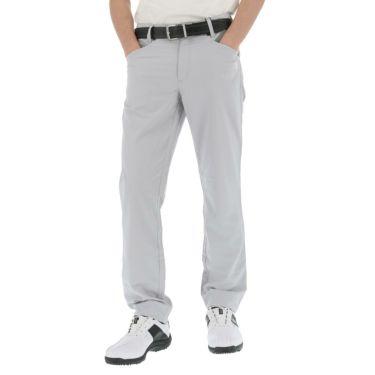 アドミラル Admiral メンズ ランパント刺繍 ストレッチ 5ポケット ロングパンツ ADMA141 2021年モデル [裾上げ対応1●] ホワイト(00)