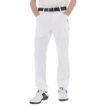 アドミラル Admiral メンズ ランパント刺繍 ストレッチ 5ポケット ロングパンツ ADMA141 2021年モデル [裾上げ対応1●] ネイビー(30)