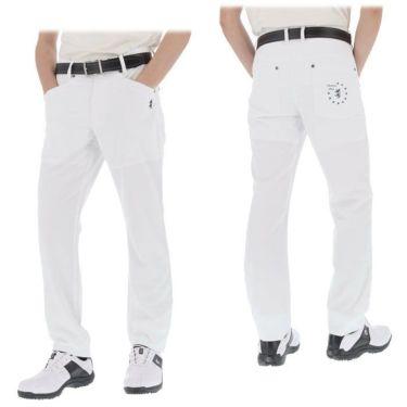 アドミラル Admiral メンズ ランパント刺繍 ストレッチ 5ポケット ロングパンツ ADMA141 2021年モデル [裾上げ対応1●] 詳細4