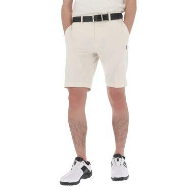 アドミラル Admiral メンズ ランパント刺繍 総柄 エンボスプリント ストレッチ ショートパンツ ADMA158 2021年モデル ホワイト(00)