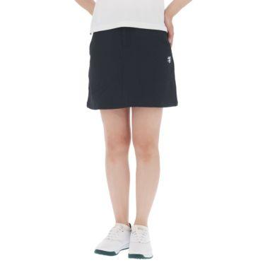 アドミラル Admiral レディース サッカーストライプ ストレッチ インナーパンツ付き スカート ADLA140 2021年モデル ネイビー(30)