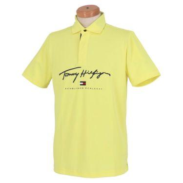 トミー ヒルフィガー ゴルフ メンズ ロゴプリント 半袖 ポロシャツ THMA119 2021年モデル 詳細2