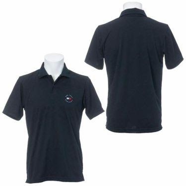 トミー ヒルフィガー ゴルフ メンズ 総柄 ジャガード ロゴ刺繍 半袖 ポロシャツ THMA136 2021年モデル 詳細3