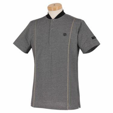 【ssプロパー】△セントアンドリュース メンズ 鹿の子 半袖 ベースボールカラー ポロシャツ 042-1160261 ゴルフウェア [2021年春夏モデル] グレー(020)