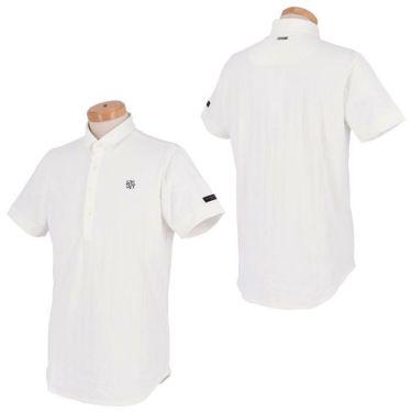 セントアンドリュース St ANDREWS メンズ サッカーストライプ 半袖 ポロシャツ 042-1160555 2021年モデル 詳細3