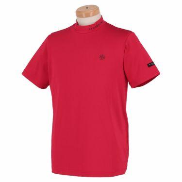 セントアンドリュース St ANDREWS メンズ ロゴプリント 天竺 半袖 ハイネックシャツ 042-1167351 2021年モデル ピンク(090)