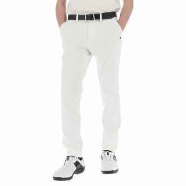 【ssプロパー】△セントアンドリュース メンズ ドビーストレッチ ロングパンツ 042-1131261 ゴルフウェア [2021年春夏モデル] [裾上げ対応1●] ホワイト(030)