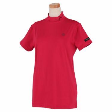 セントアンドリュース St ANDREWS レディース ロゴプリント ベア天竺 半袖 ハイネックシャツ 043-1167352 2021年モデル ピンク(090)