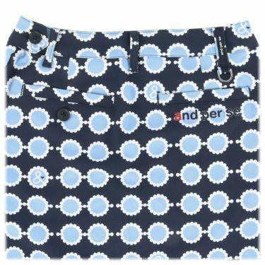 アンパスィ and per se レディース 総柄プリント ストレッチ インナーパンツ付き スカート AFS4011F3 2021年モデル 詳細4