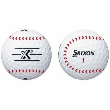 スリクソン SRIXON X2 エックスツー パ・リーグ コラボレーション 福岡ソフトバンクホークス ゴルフボール 1箱(6球入り) 2021年モデル 詳細1