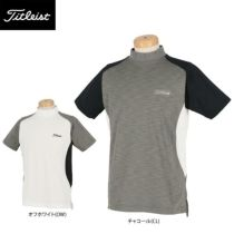 タイトリスト Titleist メンズ カラーブロック 半袖 モックネックシャツ TWMC2003 2020年モデル