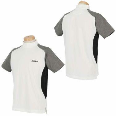 タイトリスト Titleist メンズ カラーブロック 半袖 モックネックシャツ TWMC2003 2020年モデル 詳細3