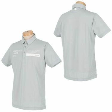 スリクソン SRIXON メンズ ロゴプリント 半袖 ポロシャツ RGMRJA01 2021年モデル 詳細3