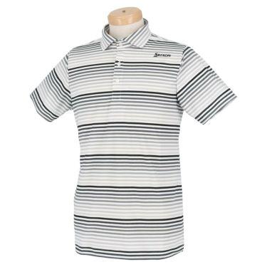 スリクソン SRIXON メンズ グラデーションボーダー柄 半袖 ポロシャツ RGMRJA21 2021年モデル 詳細2