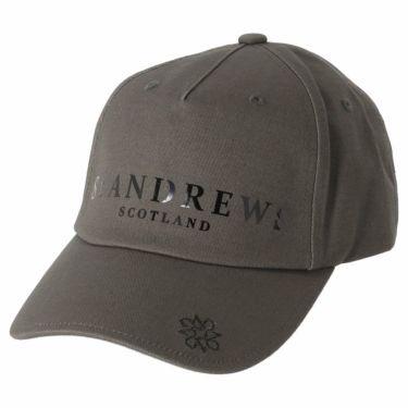 セントアンドリュース St ANDREWS ユニセックス ロゴ箔プリント コットンツイル キャップ 042-1987261 021 グレー 2021年モデル グレー(021)