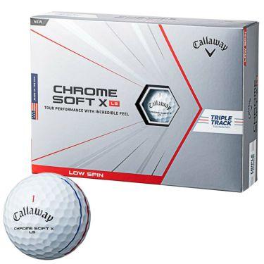 キャロウェイ クロム ソフト X LS トリプルトラック ゴルフボール 2021年モデル 1ダース(12球入り)