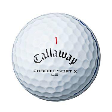 キャロウェイ クロム ソフト X LS トリプルトラック ゴルフボール 2021年モデル 1ダース(12球入り) 詳細