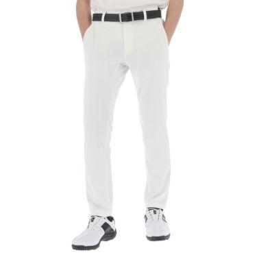 【ssプロパー】△ブラック&ホワイト メンズ ホワイトライン スウェット テーパード ロングパンツ BGS5001UD ゴルフウェア [2021年春夏モデル] [裾上げ対応1●] ホワイト(10)
