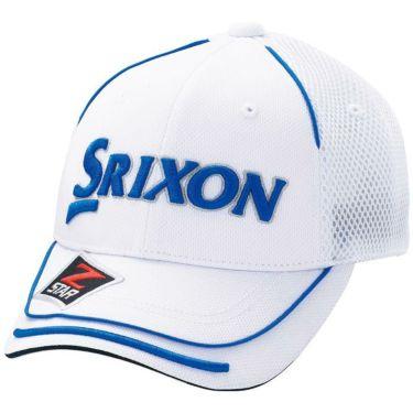 【ss特価】△ダンロップ SRIXON スリクソン メンズ オートフォーカス メッシュ キャップ SMH7133X ホワイトブルー ゴルフウェア 特価 ホワイトブルー