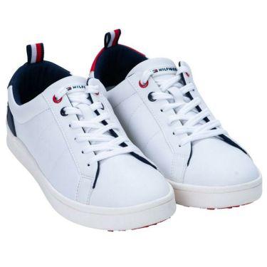 トミー ヒルフィガー ゴルフ ユニセックス スパイクレス ゴルフシューズ THMS1S 00 White 2021年モデル White(00)